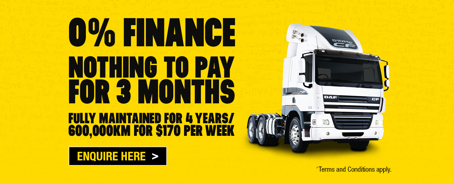 DAF CF85 Finance Offer 2019